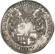 1½ thaler Ernst III – avers