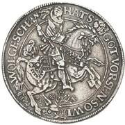 2 thaler Ernst III – revers