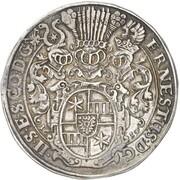 1 thaler Ernst III – avers