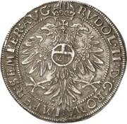 1 thaler Ernst III – revers