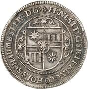 1 thaler Ernst III (Mort) – avers