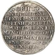 1 thaler Ernst III (Mort) – revers