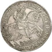 2 Thaler - Ernst III. – revers