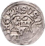 3 Pfennig - Ernst III. – avers