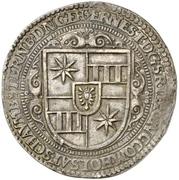 1 Thaler - Ernst III. (Décès) – avers