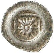 1 Pfennig - Otto V. (Schüsselpfennig) – avers