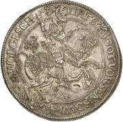 3 Thaler - Ernst III. – revers