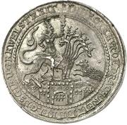 1 Thaler - Ernst III. (Biblischer Taler) – revers