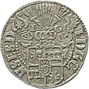 1 groschen - Ernst III – avers