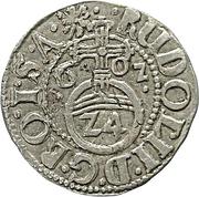 1 groschen - Ernst III – revers