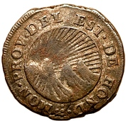 ½ real (Etat du Honduras - Monnaie temporaire) – avers