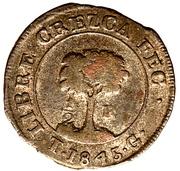 ½ real (Etat du Honduras - Monnaie temporaire) – revers