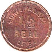 ½ Real 1911 - Municipalidad de la Ceiba – avers