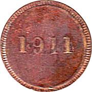 ½ Real 1911 - Municipalidad de la Ceiba – revers