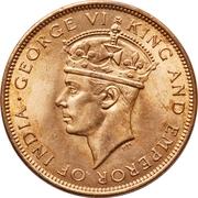 1 cent - George VI – avers