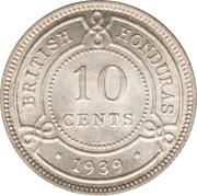 10 cents - George VI – revers
