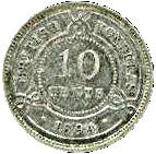 10 cents - Victoria – revers