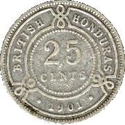 25 cents - Victoria – revers