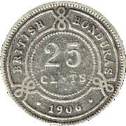 25 cents - Edward VII – revers