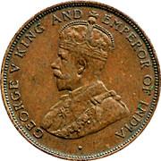 1 cent - George V – avers