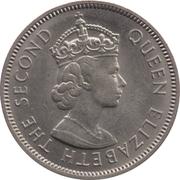 25 cents - Elizabeth II (1ere effigie) – avers