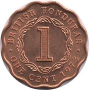 1 cent - Elizabeth II (1ere effigie) – revers