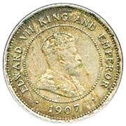 5 cents - Edward VII – avers