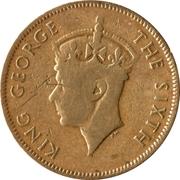 5 cents - George VI – avers