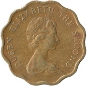 20 cents - Elizabeth II (2e effigie) -  avers
