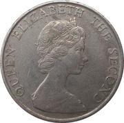 5 dollars - Elizabeth II (2eme effigie) -  avers