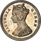 10 cents Victoria – avers