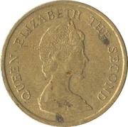 10 cents - Elizabeth II (2e effigie) -  avers