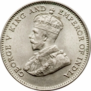 10 cents - George V – avers