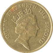 10 cents - Elizabeth II (3e effigie) -  avers