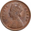1 Cent - Victoria (Essai) – revers