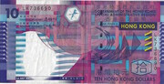 10 dollars (papier) – avers