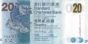 20 dollars (Standard Chartered Bank) – avers