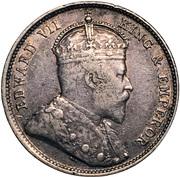 20 cents - Edward VII – avers