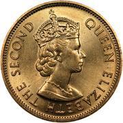 10 Cents - Elizabeth II (1st portrait) -  avers