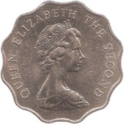2 dollars - Elizabeth II (2eme effigie) -  avers
