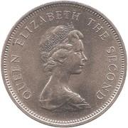 1 dollar - Elizabeth II (2eme effigie) -  avers
