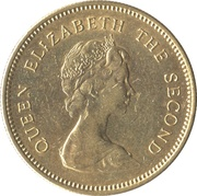 50 cents - Elizabeth II ( 2eme effigie) -  avers
