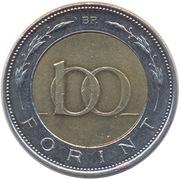 100 forint (Szaz) -  revers