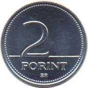 2 forint -  revers