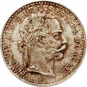 10 krajczar - Franz Joseph I -  avers