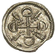 Obole - Géza II (1141-1162) – avers