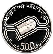 500 Forint (Coupe du monde de football Espagne 1982) -  avers