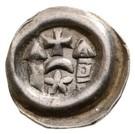 Obole bractéate - monnayeur incertain (1172-1270) – avers