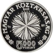 5000 Forint (Béla Bartók) -  avers