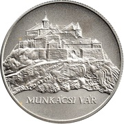 5000 Forint Château de Munkács -  avers